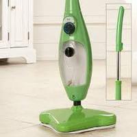 Паровая швабра Steam Cleaner 5 в 1, зеленая, швабра стимер, Steam Mop X5,