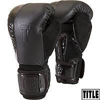 Снарядные перчатки TITLE BLACK Blast Heavy Bag Gloves