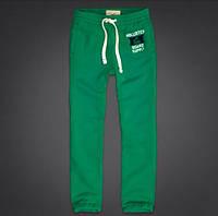 Cпортивные трикотажные штаны Hollister - зелёные, голубые, синие