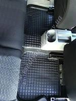 Коврики в салон для Volkswagen Caddy задние полиуретановые (Avto-gumm)
