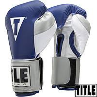Боксерские перчатки TITLE BOXEO Authentic Training Gloves