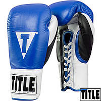 Боксерские перчатки TITLE Great Official Pro Fight Gloves