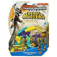 "Предакон Твинстрайк класса делюкс ""Охотники на Чудовищ"" -  Twinstirke/TFP/Beast Hunters/Deluxe/Hasbro"