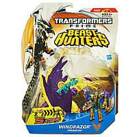 "Игрушка предакон Виндрейзор класса делюкс ""Охотники на Чудовищ"" -  Windrazor/TFP/Beast Hunters/Deluxe/Hasbro"