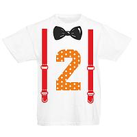 """Детская футболка """"2 года"""""""