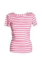 Женская полосатая футболка