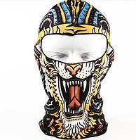 """Балаклава с 3D принтом """"Тигр"""""""