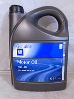 Полусинтетическое масло GM 10W-40 SL 5л