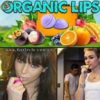 """Ягодный бальзам для губ - """"Organic Lips"""" - 2 шт."""