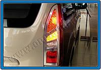 Хром накладки на задние фонари (стопы) Citroen Berlingo 2012+ (Ситроен Берлинго)