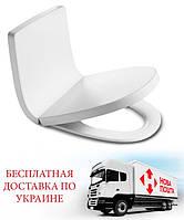 Сиденье для унитаза (мягкая спинка) Roca Khroma дюропласт Soft-close 80165A004 + 801652004