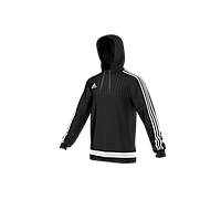 Толстовка ADIDAS Tiro 15 Hooded Top black S22429