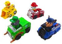 Набор игрушек Щенячий патруль XZ 341, 4 вида инерционных машинок, пластик, 12 штук в коробке