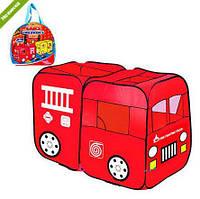 Палатка детская M 1401 пожарная машина