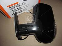 Зеркало боковое ГАЗ 3302 нового образца с поворот. лев. черное, глянец  (производство Дорожная карта ), код запчасти: 46.8201021-50