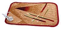 Коврик с подогревом в ковролине (электроковрик в ковролине) 55х33 см., 30 Вт., 40 С