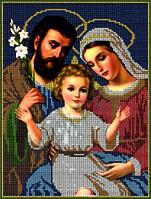 Схема для вышивки бисером Святое семейство КМИ 4016