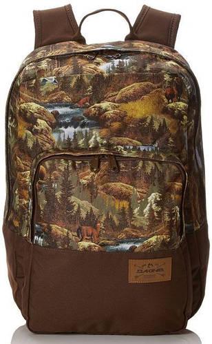 Городской рюкзак с рисунком коричневого цвета Dakine CAPITOL 23L paradise 610934866827