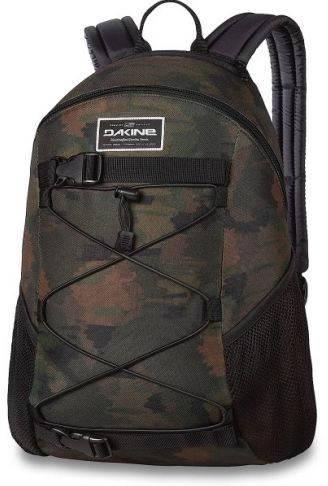 Надежный мужской рюкзак для прогулок защитного цвета Dakine WONDER 15L marker camo 610934903423