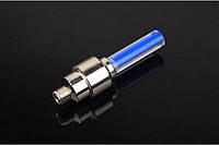 Светодиодный колпачок,  подсветка для спиц колеса -  синий  цвет.