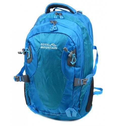 Качественный туристический рюкзак 45 л. Royal Mountain 8463 l-blue голубой