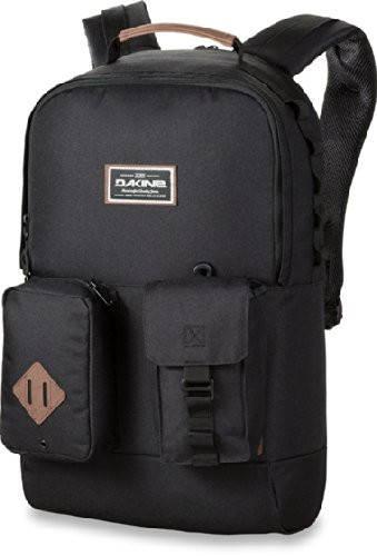 Оригинальный мужской рюкзак с откидным карманом Dakine MOD 23L black 610934865745 черный