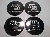 Наклейка на колпачок диска Mazda Speed 55 мм