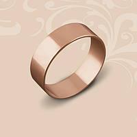 Золотое обручальное кольцо. Европейская модель