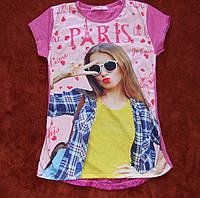 Модные футболки, туники для подростков. 146-164