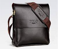 Сумка через плечо. Мужская сумка Поло. Мужские сумки недорого. Мужские кожаные сумки.