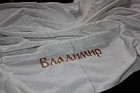"""Крестильное полотенце с вышивкой"""" Владимир"""""""