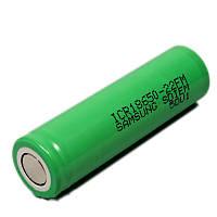 Аккумулятор Самсунг 18650 ICR18650-22F: Li-ion, 220 мАч, 3,7V, без защитной платы