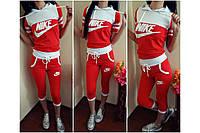 Летний спортивный костюм Nike бриджи р. от  50-56