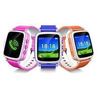 Детские часы-телефон с GPS трекером Q80 Большой экран 1,44'' - настройка бесплатно