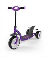Самокат Milly Mally Crazy Scooter (фиолетовый)