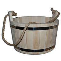 Шайка для бани липовая (15 л)