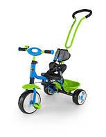 Велосипед MILLY MALLY Boby 2015 с подножкой (синий с зеленым)