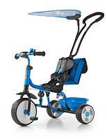 Велосипед Boby Deluxe 2015 с подножкой ТМ Milly Mally (синий)