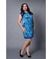 Модное платье больших размеров, р 46-54
