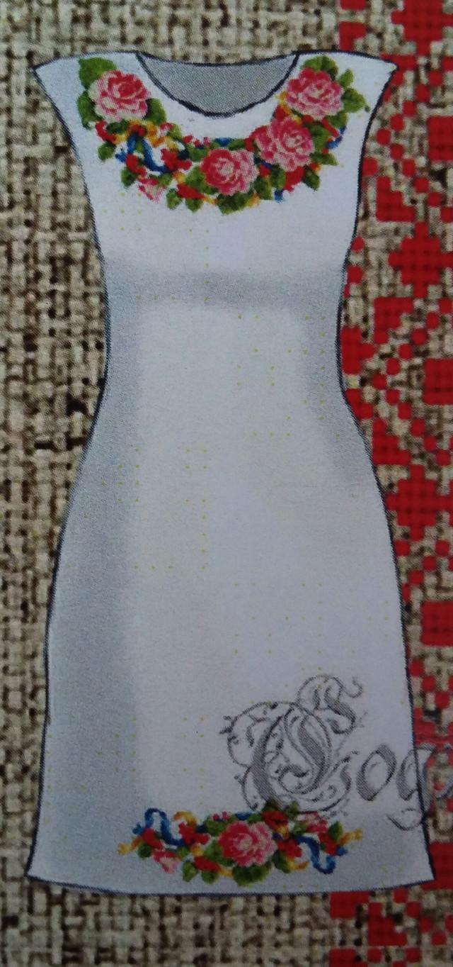 Вышивка женские платья 35