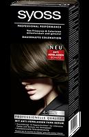 Syoss Coloration 4-1 Mittelbraun - Краска для волос оттенок 4-1 каштан