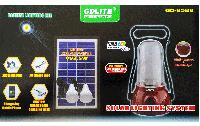Солнечная система освещения GD Lite 8588. Солнечная батарея, USB