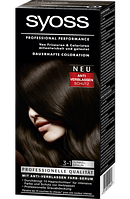 Syoss Coloration 3-1 Dunkelbraun - Краска для волос оттенок 3-1 темно-коричневый, 1 шт.