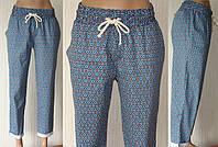 Женские летние модные брюки. Бананы.