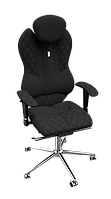 Ортопедическое Офисное Кресло «Grande» Kulik System ЧЕРНЫЙ