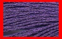 Нитки мулине металлизированные DMC для вышивания, цвет Е 3837
