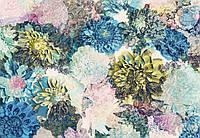 Фотообои бумажные на стену 368х254 см 8 листов: Игривые цветы. Komar 8-941
