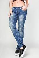 Женские модные джинсы со звездами