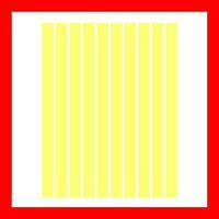 Полоски бумаги для квиллинга, цвет желтый пастельный, 3x297 мм, 80 г/м2, 240 шт
