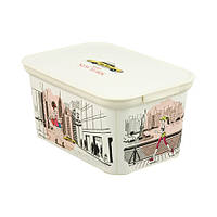 Декоративный ящик для хранения Curver Decos Miss New York S